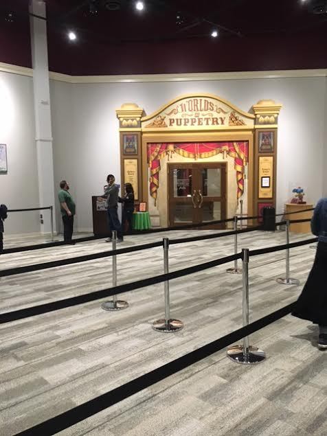 Center for Puppetry Entranceway