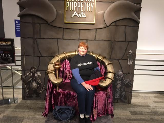 Center for Puppetry Jareth Throne