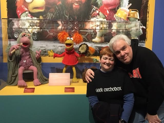 Center for Puppetry Red and Mokey